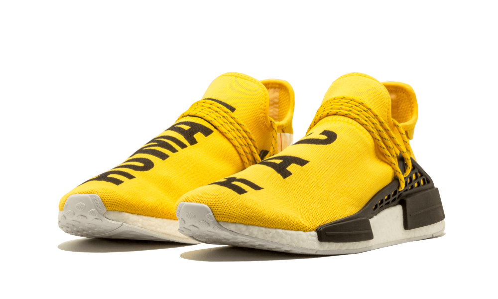 NMD Human Race Yellow - AirBoostShoes